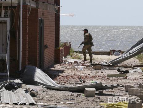 Около Донецка непрекращаются обстрелы,— штаб АТО