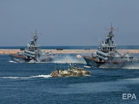 Росія обмежила судноплавство у п'яти районах Чорного моря