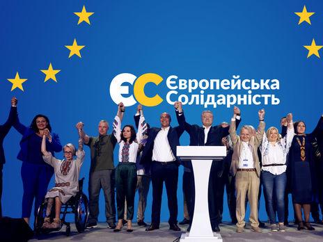 """""""Европейская солидарность"""" заняла четвертое место на выборах в многомандатном округе"""