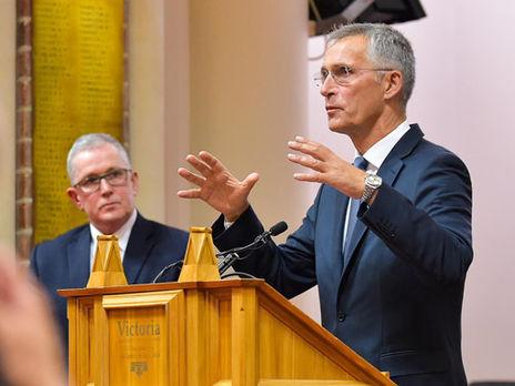 Столтенберг: Россия пытается вмешиваться и подрывать доверие к демократическим институтам в нескольких странах членах НАТО