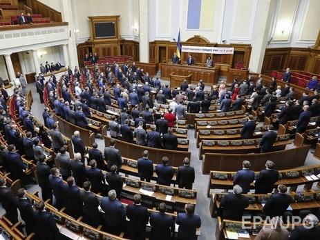 Порошенко подписал регламент для поправок вконституцию