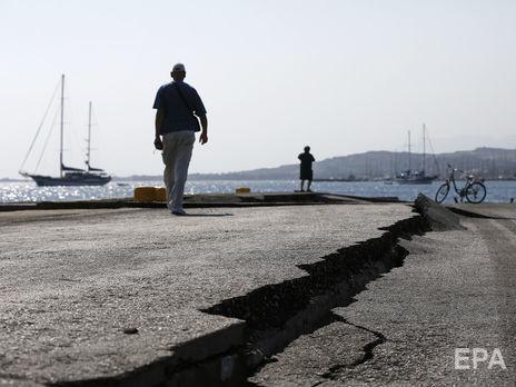 Несколько подземных толчков произошли в западной части Турции