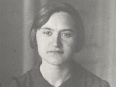 Ирина Хорошунова в 1940-е годы