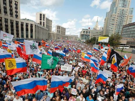 Протягом останнього місяця в Москві відбулося три великі акції через недопуск незалежних кандидатів на вибори в Мосміськдуму