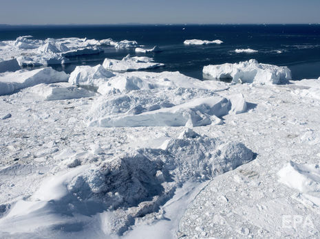 Із 1972 року через втрату крижаного покриву Гренландії рівень моря піднявся на 1,3 см
