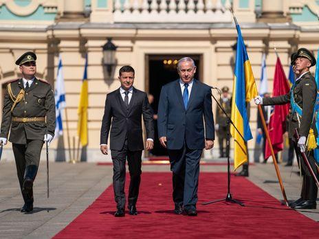 19 tn - В Киеве началась встреча Зеленского и Нетаньяху, стороны подпишут ряд двусторонних документов