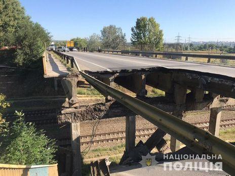 Полиция расследует обрушение моста в Харькове по двум статьям УК
