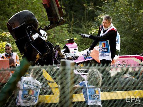 После аварии гонка в Спа была остановлена