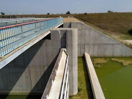 Дамбу на Північно-Кримському каналі станом на серпень 2019 року не добудовано на 7%