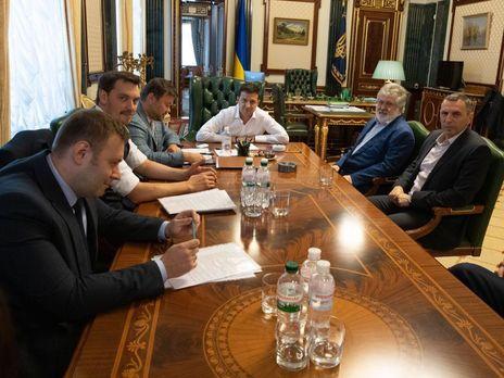 Зустріч відбувалася в Офісі президента