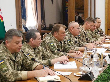 На встрече обсудили в том числе реформирование украинской армии