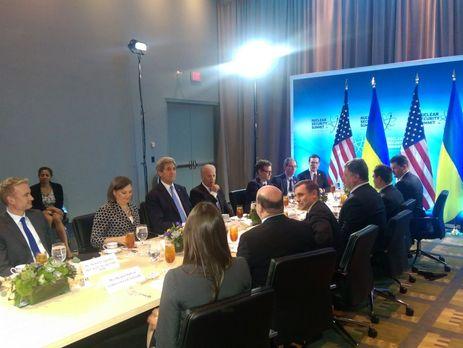 Фотографию с переговоров опубликовала журналистка Герасимова