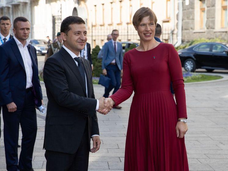 Зеленский анонсировал визит в Эстонию в октябре