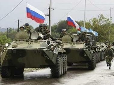 Российские войска несколько дней блокировали некоторые районы Крыма