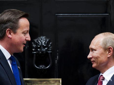 «Националист старой закалки». Кэмерон в собственных мемуарах поведал оПутине