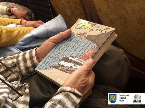 Сенцов во Львове презентовал книгу, написанную в российском плену
