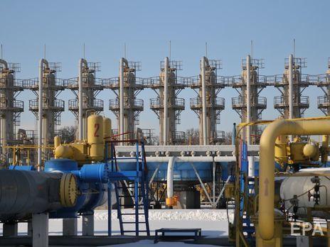 В украинских газохранилищах находится уже больше 20 млрд м³ газа