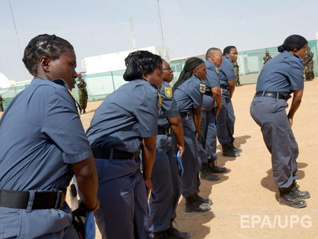 В рядах миротворцев женщины составляют 3% военнослужащих и 10% полицейских