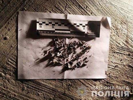 Поліція виявила осколки гранати РГД-5