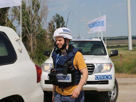 СММ ОБСЕ является невооруженной гражданской миссией, которая наблюдает за ситуацией во всех регионах Украины