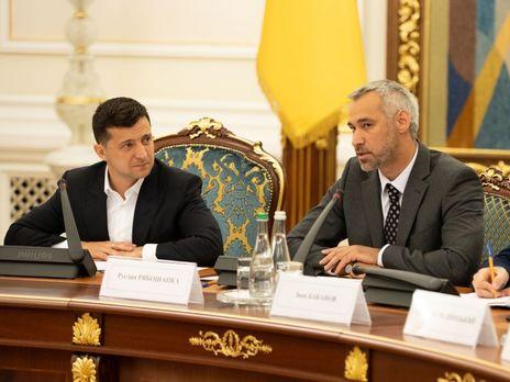 Прокуроры недовольны реформой, которую проводит Рябошапка (справа)