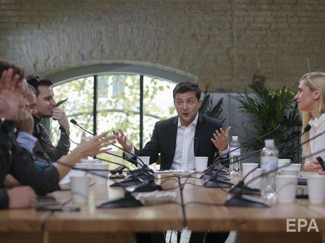 """Зеленський уважає, що треба говорити з бізнесменом Ігорем Коломойським щодо """"ПриватБанку"""""""