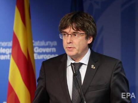 Верховный суд Испании выдал международный ордер на арест Пучдемона