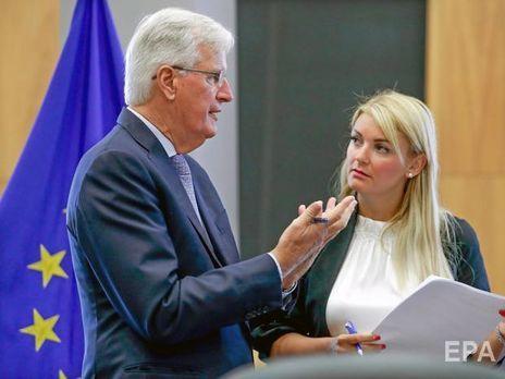 """Андреева заявила, что в ЕС """"учтут"""" результаты голосования британского парламента 19 октября"""