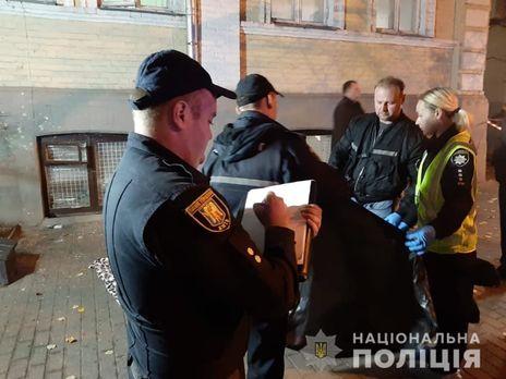 Полиция расследует взрыв гранаты в Киеве как умышленное убийство