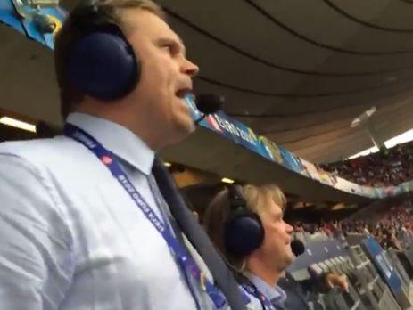 Бенедиктссона называют самым эмоциональным комментатором Евро 2016