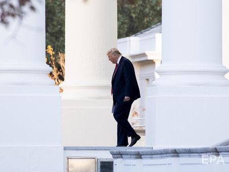 В съезде  США проведут голосование поимпичменту Трампа 31октября