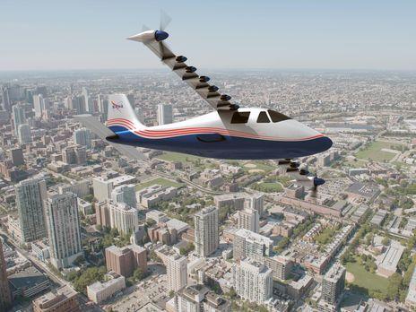 Самолет Х-57 является полностью электрическим