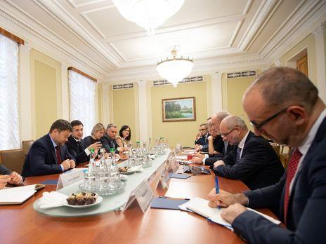Зустріч відбулася 14 листопада