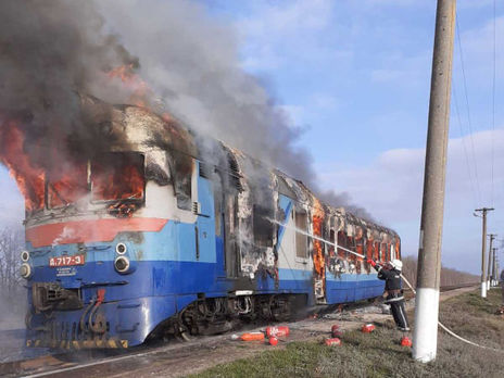 О 14.00 пожежу в Миколаївській області локалізували