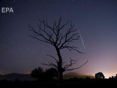 Леониды ежегодный метеоритный поток