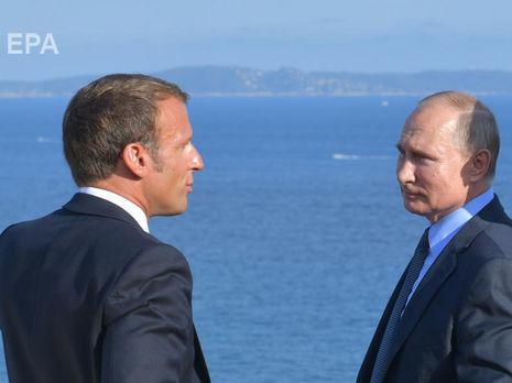 """Макрон и Путин уделили Украине """"особое внимание"""""""