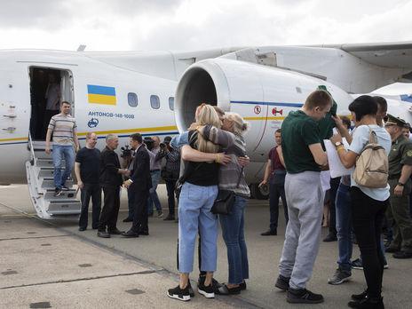 Обмен удерживаемыми лицами между Украиной и РФ состоялся 7 сентября