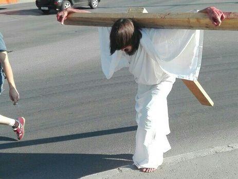 """В полиции на """"Иисуса"""" составили протокол"""