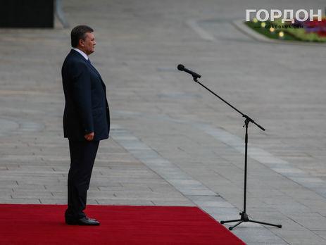 ВГенпрокуратуре Украины сообщили, что немогут связаться сЯнуковичем