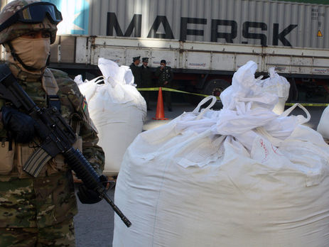 Таможенники перехватили судно скокаином на80 млн фунтов