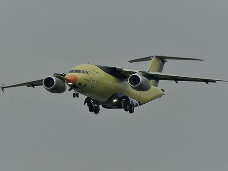 «Антонов» обнародовал головокружительное видео полета нового самолета