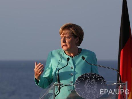Меркель выступила срезкой критикой русской политики вСирии