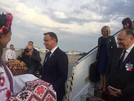 В государство Украину напразднование 25-летия независимости приедет президент Польши Дуда