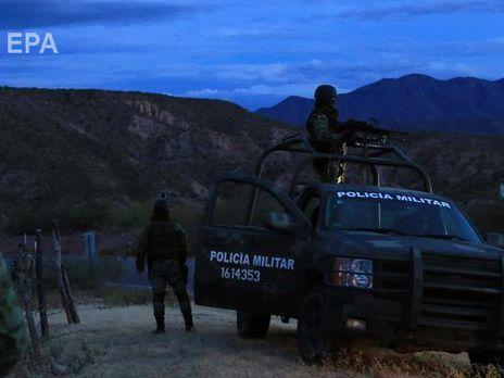 Перестрілка сталася між поліцією та членами картелю