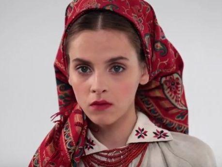 893b219aaede Украинские национальные костюмы разных регионов показали в коротком ...