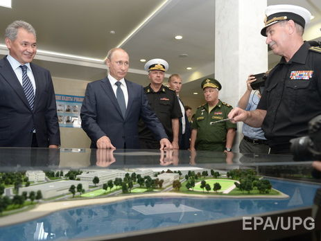 Путин поручил дать жилье бывшим украинским контрактникам вКрыму