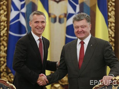 Порошенко иСтолтенберг обсудили эскалацию конфликта наВостоке Украины