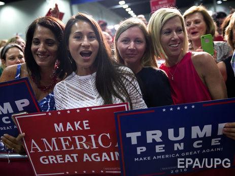Клинтон опережает Трампа на5%,— опрос