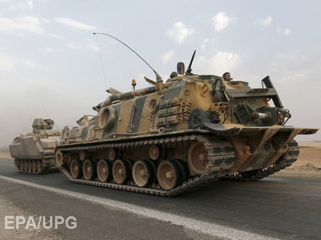 «Евфратский Щит»: Турецкая армия вошла вСирию