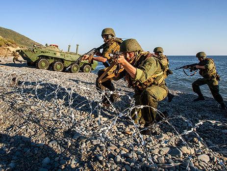 СилыЧФ провели тренировку повысадке нанеоборудованное побережье